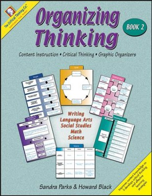 Organizing Thinking Graphic Organizers Book 2, Grades 5-8   -     By: Sandra Parks, Howard Black