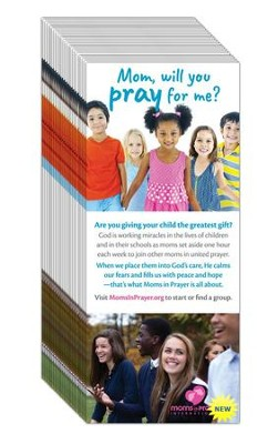 Moms in Prayer Ministry Prayer Cards, 25 Pack   -