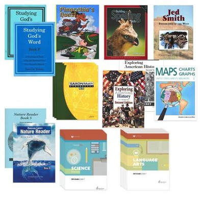 Homeschool Reviews/Home School, Inc. Grade 5 Quick  Start Curriculum Kit  -