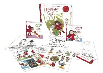 Ladybug Girl Loves... Gift Set  -     By: Jacky Davis, David Soman