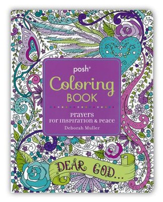 Prayers for Inspiration & Peace Adult Coloring Book  -     By: Deborah Muller