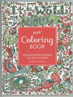 Hymnspirations For Joy Praise Adult Coloring Book