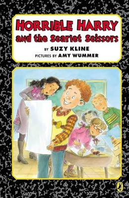 Horrible Harry and the Scarlet Scissors - eBook  -     By: Suzy Kline     Illustrated By: Amy Wummer