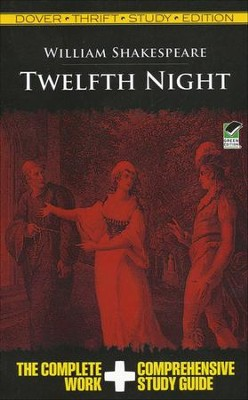 Twelfth Night, Thrift Study Edition  -     By: William Shakespeare