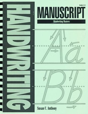 Manuscript Handwriting Masters   -     By: Susan C. Anthony