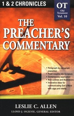 The Preacher's Commentary Vol 10: 1,2 Chronicles   -     By: Leslie C. Allen