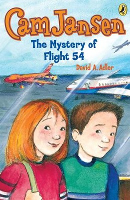 Cam Jansen: The Mystery of Flight 54 #12: The Mystery of Flight 54 #12 - eBook  -     By: David A. Adler     Illustrated By: Susanna Natti