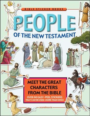 People of the New Testament - Sticker Book   -     By: Daniel Vium