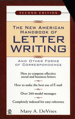 The New American Handbook of Letter Writing: Second Edition - eBook  -     By: Mary DeVries