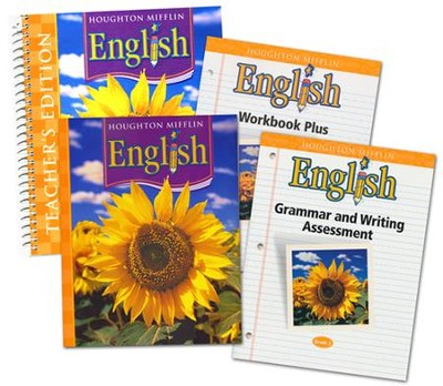Houghton Mifflin English Grade 2 Homeschool Package   -