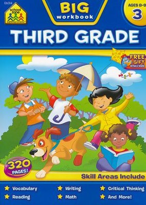 Big Third Grade Workbook   -