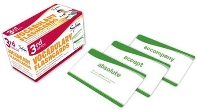 Vocabulary Flashcards - 3rd Grade   -