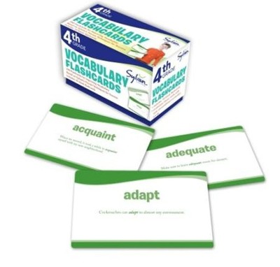 Vocabulary Flashcards - 4th Grade  -