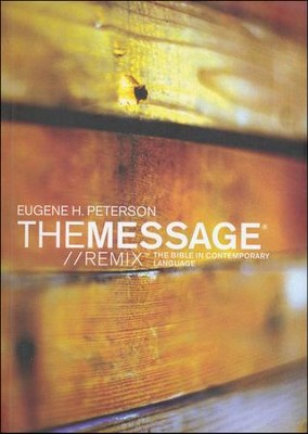 The Message // REMIX 2.0, Softcover, Case of 24   -     By: Eugene H. Peterson