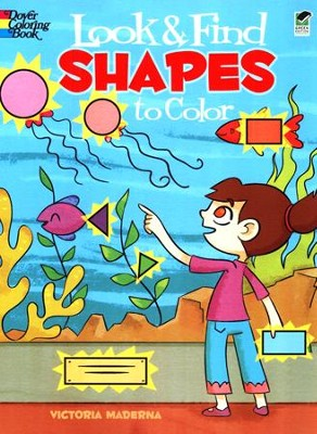 Look-and-Find Shapes to Color  -     By: Victoria Maderna