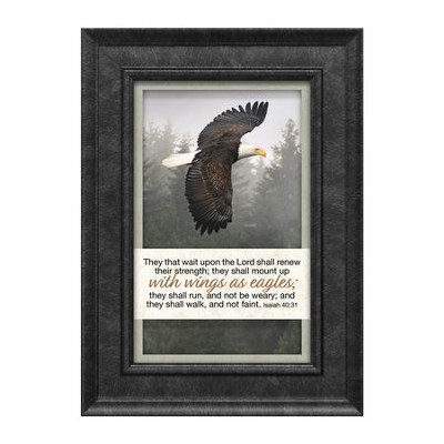 They That Wait Upon the Lord Shall Renew Their Strength, Isaiah 40:31, Framed Art  -