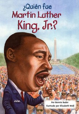 ¿Quién fue Martin Luther King, Jr.? - eLibro  (Who Was Martin Luther King, Jr.? - eBook)  -     By: Bonnie Bader, Elizabeth Wolf, Nancy Harrison