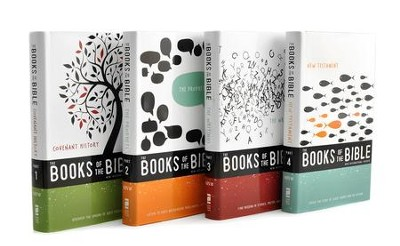 NIV Books of the Bible - 4 Volumes   -