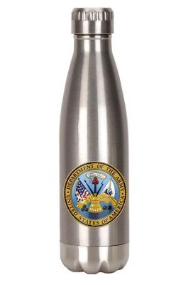 United States of America, Department of the Army, Stainless Steel Water Bottle  -