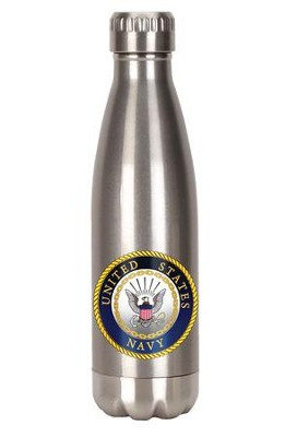United States Navy Stainless Steel Water Bottle  -