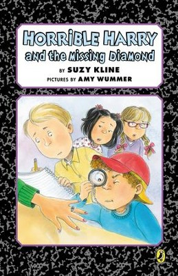 Horrible Harry and the Missing Diamond - eBook  -     By: Suzy Kline     Illustrated By: Amy Wummer