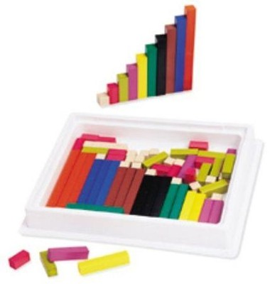 Cuisenaire &#174 Rods Introductory Set, Wood   -