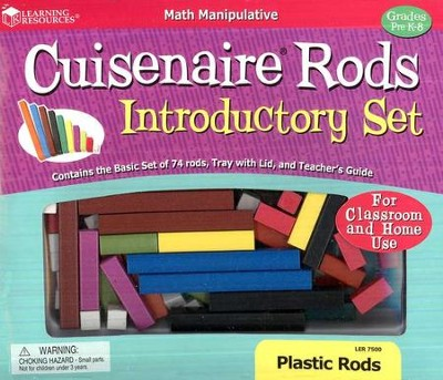 Cuisenaire &#174 Rods Introductory Set, Plastic   -