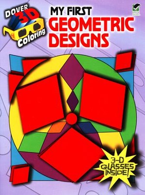 My First Geometric Designs, 3-D Coloring Book  -     By: Anna Pomaska