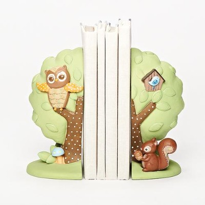 Baby Owl Bookends  -