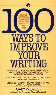 100 Ways to Improve Your Writing - eBook  -     By: Gray Provost, Gary Provost
