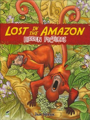 Lost in the Amazon: Hidden Pictures  -     By: Jan Sovak