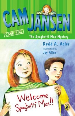 Cam Jansen and the Spaghetti Max Mystery - eBook  -     By: David A. Adler     Illustrated By: Joy Allen