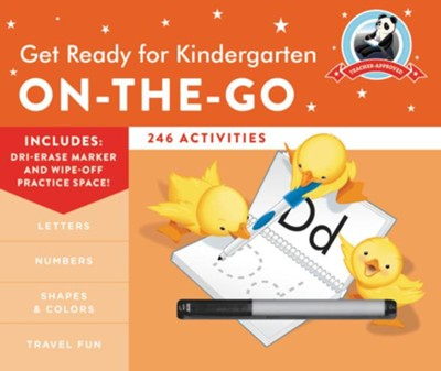 Get Ready for Kindergarten On-the-Go  -     By: Heather Stella