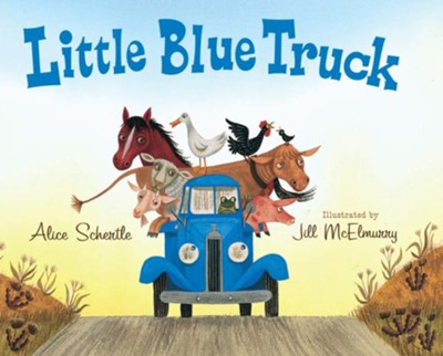 Little Blue Truck big book  -     By: Alice Schertle