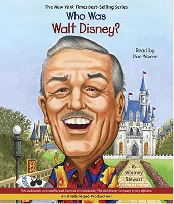 Who Was Walt Disney? Unabridged Audio CD   -     By: Whitney Stewart