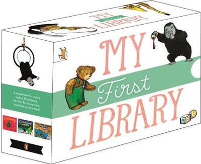 My First Library: Good Night, Gorilla; Corduroy; and The Little Engine That Could  -     By: Peggy Rathmann, Don Freeman, Watty Piper