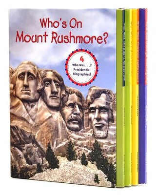 Who's On Mount Rushmore? Box Set  -     By: Editors     Illustrated By: Nancy Harrison