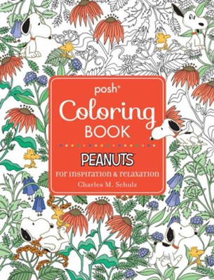 Posh Adult Coloring Book Peanuts For Inspiration Relaxation