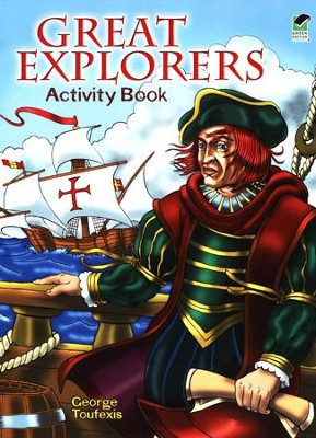 Great Explorers Activity Book  -     By: George Toufexis