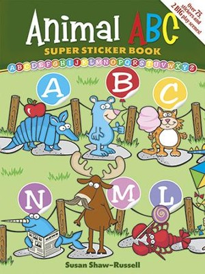 Animal ABC Super Sticker Book  -     By: Susan Shaw-Russell