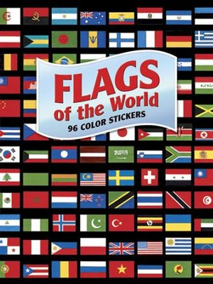 Flags of the World: 96 Color Stickers  -     By: A.G. Smith