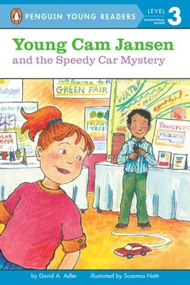 Young Cam Jansen and the Speedy Car Mystery - eBook  -     By: David A. Adler