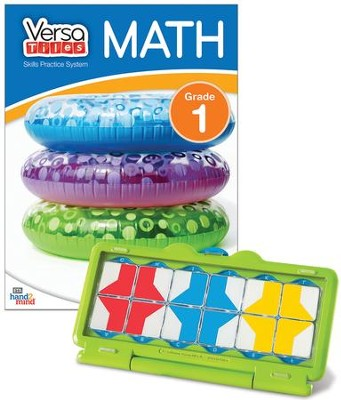 VersaTiles Math Skill Practice Kit Grade 1 (At Home  Edition)  -