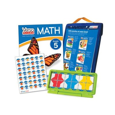 VersaTiles Math Skill Practice Kit Grade 5 (At Home Edition)  -