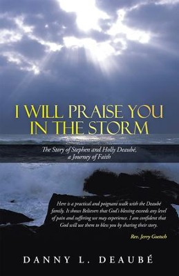 I Will Praise You in the Storm: The Story of Stephen and Holly Deaube, a Journey of Faith - eBook  -     By: Danny Deaube