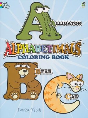 Alphabetimals Coloring Book  -     By: Patrick O'Toole