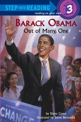 Barack Obama: Out of Many, One - eBook  -     By: Shana Corey     Illustrated By: James Bernardin