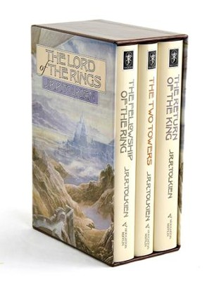 The Lord of the Rings, 3 Volume Hardcover Boxed Set   -     By: J.R.R. Tolkien