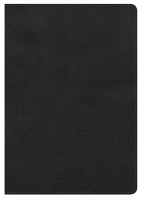 NKJV Super Giant Print Reference Bible, Black LeatherTouch  -