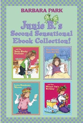 Junie B.'s Second Sensational Ebook Collection!: Books 5-8 / Combined volume - eBook  -     By: Barbara Park     Illustrated By: Denise Brunkus